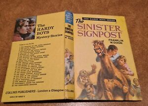 THE HARDY BOYS SERIES Franklin W Dixon THE SINISTER SIGNPOST #22 1972 COLLINS