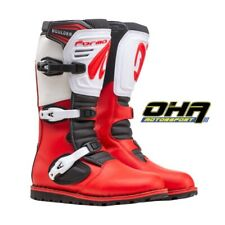 NEW Forma Boulder LE Trials Bike Boots - Red / White - LIMITED EDITION - INSTOCK