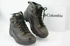COLUMBIA Glacier Chocolate Mens 8 Lace up Ankle Hiking Waterproof Boots A050