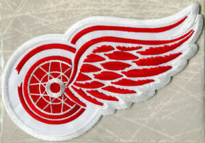 1952 DETROIT RED WINGS Willabee Ward NHL THROWBACK HOCKEY TEAM PATCH Patch Only