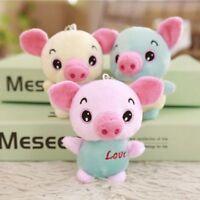 Pig Plush Toy Soft Stuffed Animals Mini Piggy Bag Pendant Plush Doll Available