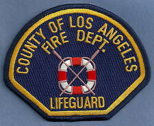 LOS ANGELES COUNTY FIRE DEPARTMENT LIFEGUARD PATCH