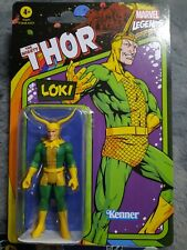 Kenner Marvel Legends Retro Style Loki Mighty Thor 3.75? Figure NEW