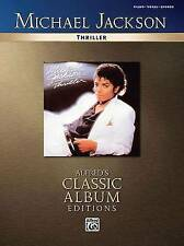 Michael Jackson Thriller Piano/Vocal/Chords (Alfred's Classic Album Editions)