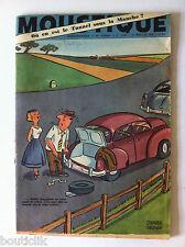 Tv Radio MOUSTIQUE 31/07/1955: Tunnel sous la manche/ Bobet/ Saint-Granier/ Ike