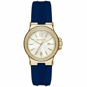 Michael Kors MK2490 Mini Dylan Gold Tone Sunray Dial Ladies Watch