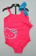 37c5dc58c2 Girls HELLO KITTY Swimsuit One Piece CAT Swimming Costume Pink Ages 4 5 6 7  BNWT