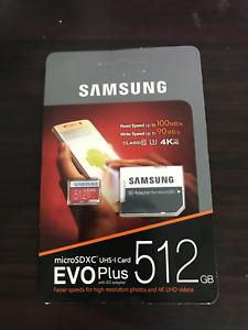 SAMSUNG Original New EVO512GB U3 Memory Card Cla  1PCS Ultra micro SD Flash SDHC