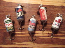 Molson Canadian Labatt Blue 50 Ale Beer Coors Light Budweiser 5 Fishing Lure