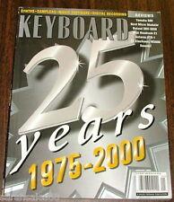 2000 Clavia Nord Micro Modular Roland SRV-3030 Yamaha S80 KEYBOARD Magazine Test