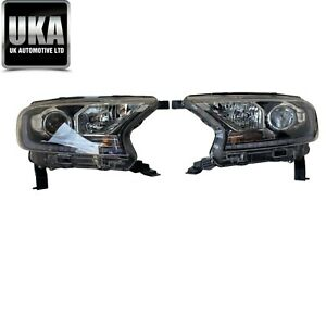 HEADLAMPS FORD RANGER XENON DRL PAIR OF HEADLIGHTS LAMPS LIGHTS 2019 2020