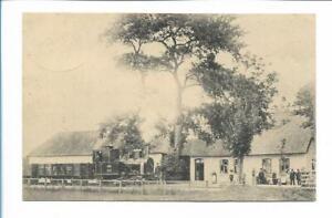 XX14113/ Aukrug Eisenbahn Bahnhof + Bahnpost Heide - Pahlhude AK 1910