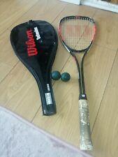 Wilson High Beam serie Squash Raquet Y Cubierta