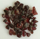 50 CT SCOOP NATURAL GARNET RED ROUGH GEMSTONES LOOSE WHOLESALE LOT RAW MINERAL