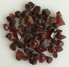50 CT SCOOP NATURAL GARNET RED ROUGH GEMSTONES LOOSE WHOLESALE LOT RAW MINERAL