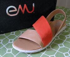 EMU Australia JERRAWA  Leather Slingback Sandal Size 8.5 M
