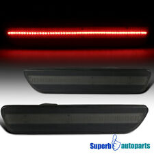 For 2005-2009 Ford Mustang LED Smoke Rear Side Marker Lights Signal Lamps