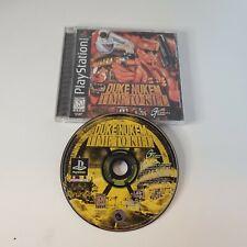 Duke Nukem: Time to Kill (Sony PlayStation 1, 1998) - B Condition - Tested