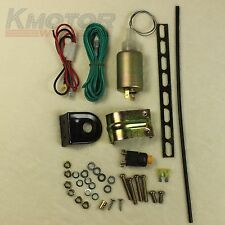 Trunk Release Solenoid Pop Truck Electric Open Kit Hatch Power Car Alarms New