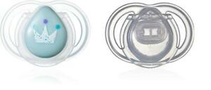 Tommee Tippee Newborn Orthodontic Dummy Pacifier BPA Free Soother 0-2 M