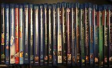 Disney and Pixar Bluray/DVD Combo Lot of 24