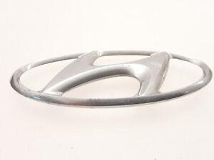 Hyundai Sonata 2006 front manufacturer badge logo emblem