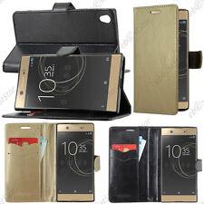 Housse Etui Coque Portefeuille Simili Cuir Sony Xperia XA1 Ultra