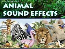 Animal Sound Effects FX - .wav Samples - Download