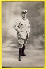 cpa Carte Photo de 1915 CAEN ? MILITAIRE SOLDAT du 19e Régiment Lunette anti Gaz