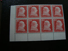 ALLEMAGNE (rfa) - timbre - yvert et tellier n° 149 x8 n** (A5) stamp germany