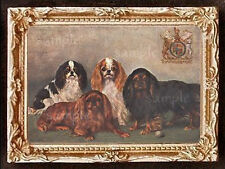 King Charles Spaniel Miniature Dollhouse Picture