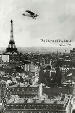 Spirit of St. Louis at Paris Poster Print, 24x36