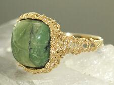 Goldring 375 mit Opalkatzenauge - Terra Opalis - Ring Gold 9 kt RW 66 Opalring