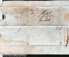 LETTRE PRÉ PHILATELIE 1823 - BROCHELLE à ANGOULÊME