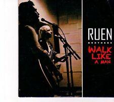 (DZ370) Ruen Brothers, Walk Like A Man - 2013 DJ CD