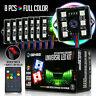 8 LED Rock Lights Under Body LED Lighting RGB RF Remote Control