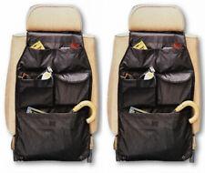 2x Autocare Nylon Car Seat Organizer Back Of Seat Storage