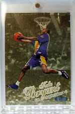 1997 97-98 FLEER ULTRA GOLD MEDALLION Kobe Bryant #1G, Rare Parallel! Lakers HOF