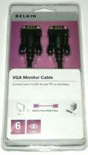 Belkin VGA/SVGA Video Cable 6 Feet Male/Male