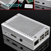 Aluminum Alloy Metal RPi Case Shell Box Kit for Raspberry Pi 3 Pi 2 and B+