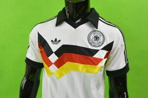 adidas Originals Mens Germany 1988 Retro Home Shirt White SIZE S (adults)