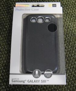 New Case Logic Polycarbonate Case for Samsung Galaxy S III Black CLS3-501