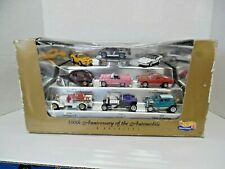 HOT WHEELS 100TH ANNIVERSARY OF THE AUTOMOBILE 9 CAR BOXED SET,  NOS, SEALED