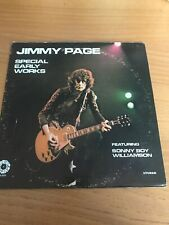 JIMMY PAGE SPECIAL EARLY WORKS FEATURING SONNY BOY WILLIAMSON / SPRINGBOARD 4038