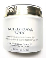 Lancome Nutrix Royal Body Intense Nourishing Body Butter 6.7 oz *ONLY Opened*