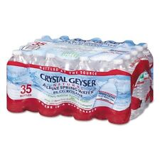 CRYSTAL GEYSER WATER CO Natural Alpine Spring Water 16.9 oz Bottle 35001CTDEP