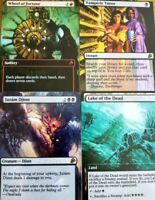 10 CARDS Magic TRADING CARDS Vampiric tutor Birds of Paradise Demonic Mox