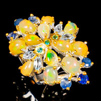 Opal Ring Silver 925 Sterling Special Jewelry Price! Size 6.5 /R141862