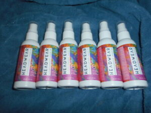 **LOT 6** HeadWear SUPER-charged leave in conditioner 12 ounces total