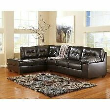 Ashley Furniture Leather Living Room Sofas, Loveseats & Chaises for ...